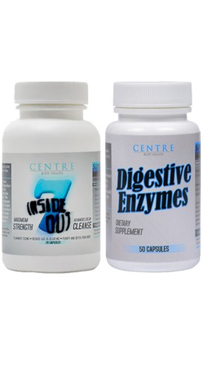 7 Day Colon Cleanse and Digestive Enzymes