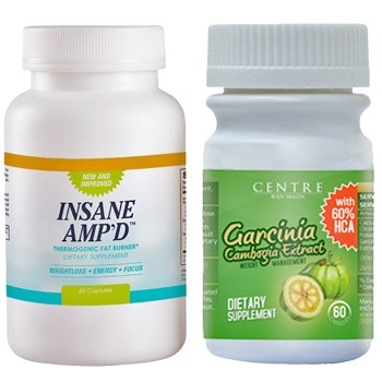 Garcinia Cambogia and Insane Amp'd