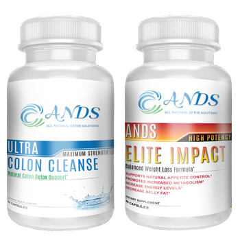 ANDS Ultra Colon Cleanse & ANDS Elite Impact